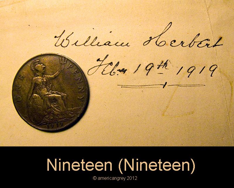 Nineteen (Nineteen)