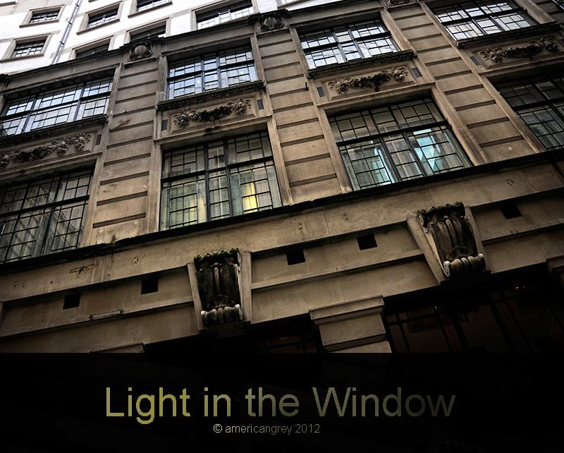 Light in the Window . .