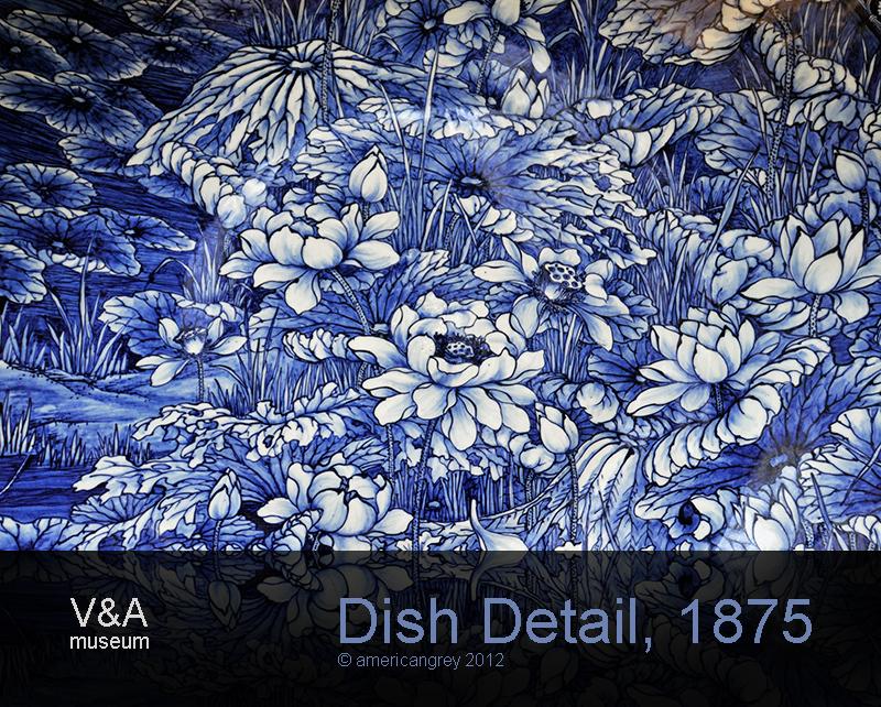 Dish Detail, 1875