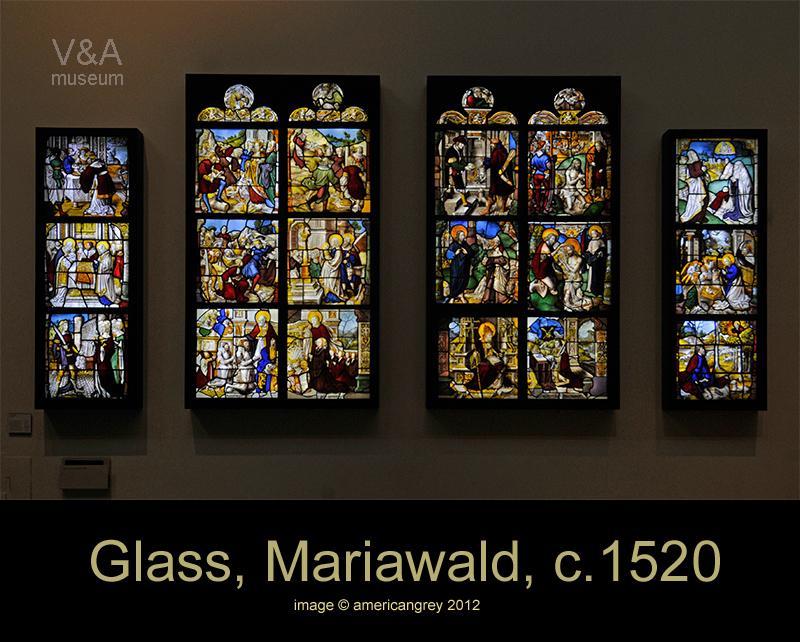 Glass, Mariwald, c.1520