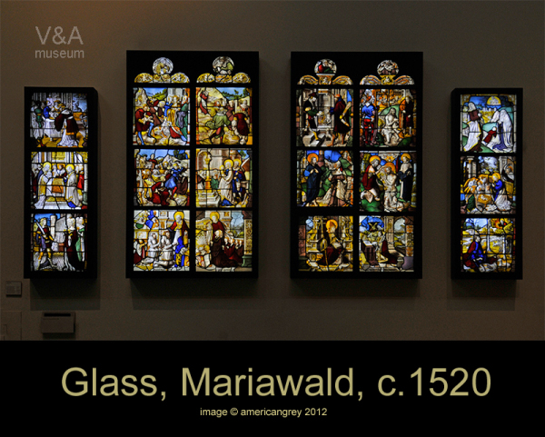 Glass, Mariwald, c.1520