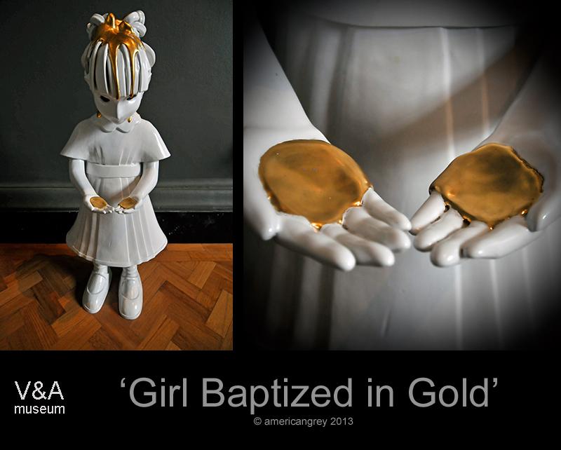 'Girl Baptized in Gold'