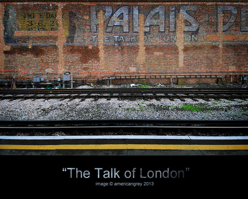The Talk of London : 1919-2007