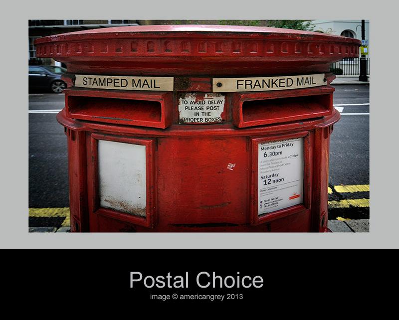 Postal Choice