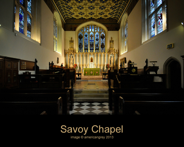 Savoy Chapel 1/2