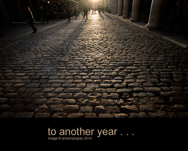 . . to another year . .