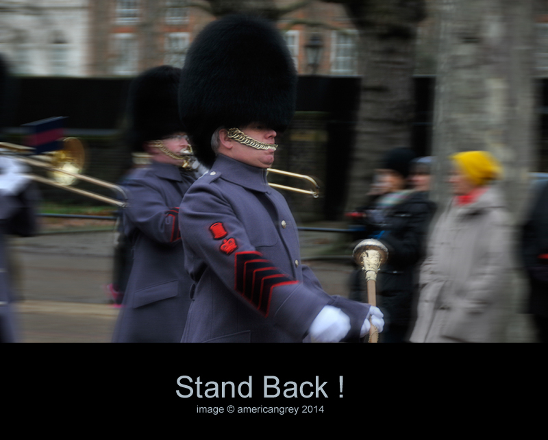 Stand Back !
