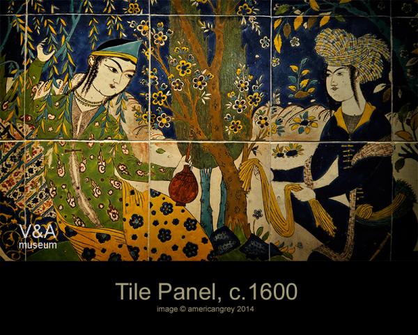 Tile Panel, c.1600