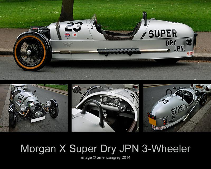 Morgan X Super Dry JPN 3-Wheeler