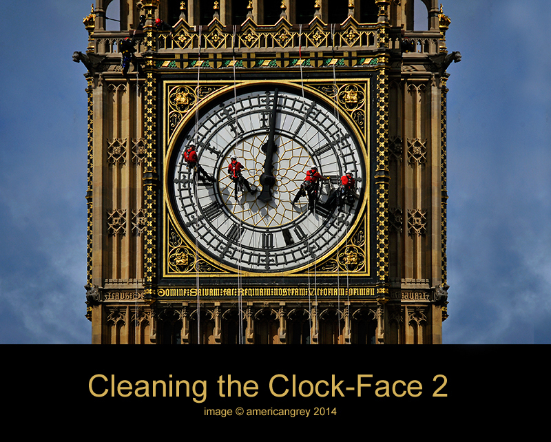 Cleaning the Clock-Face 2/2