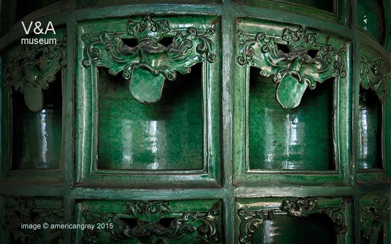 Green Tile Stove