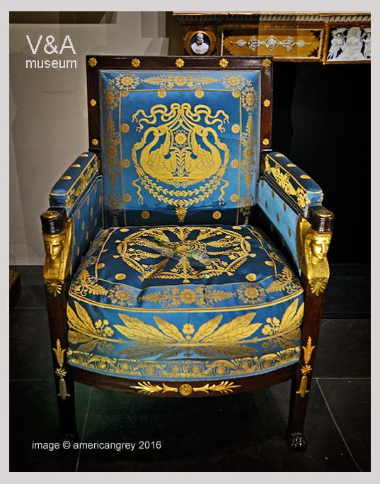 V&A 1/5 : Armchair, 1805
