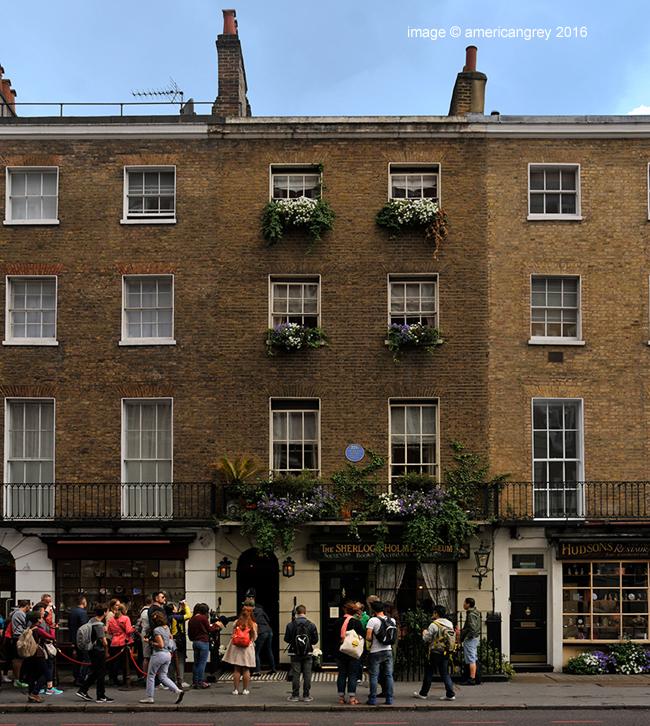 221B Baker Street . .
