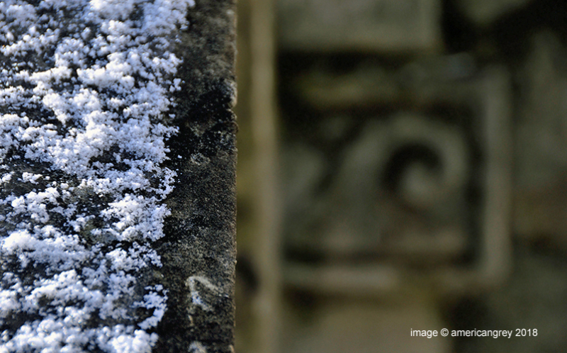 A touch of snow . .