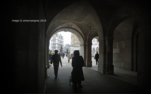 . . to London's Horse-guards Parade