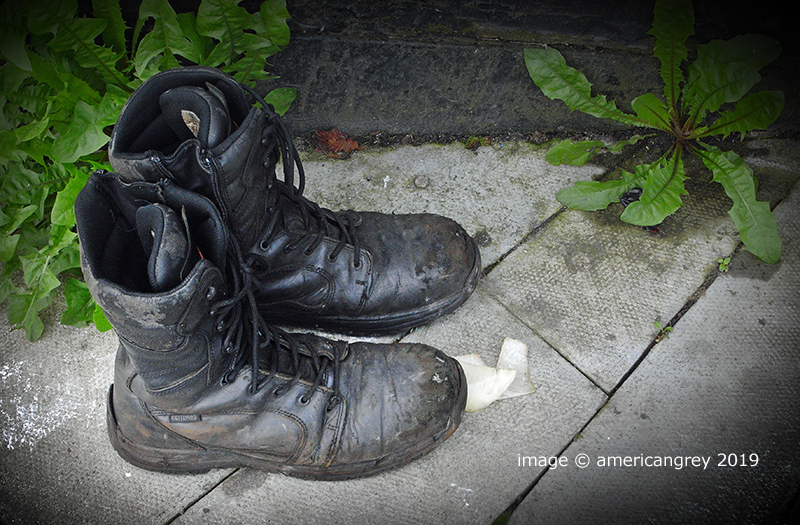 """""""These Boots Were . . """""""