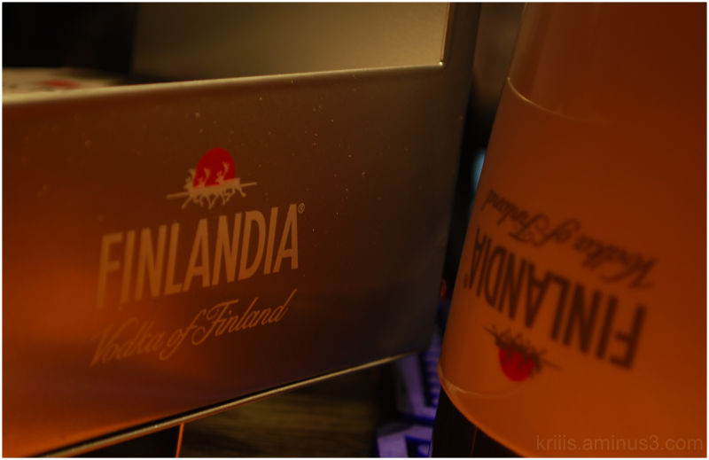 Lapland Levi InTeam Finlandia Wodka