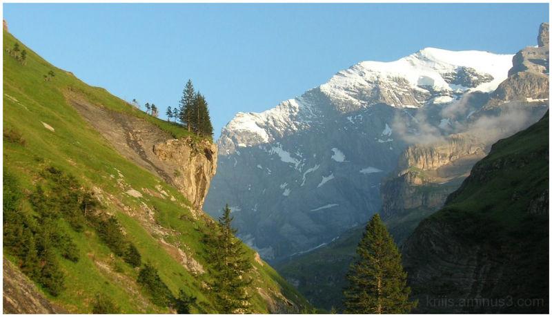 tzerland, Berner Oberland, Alps, Gamchi, Kiental