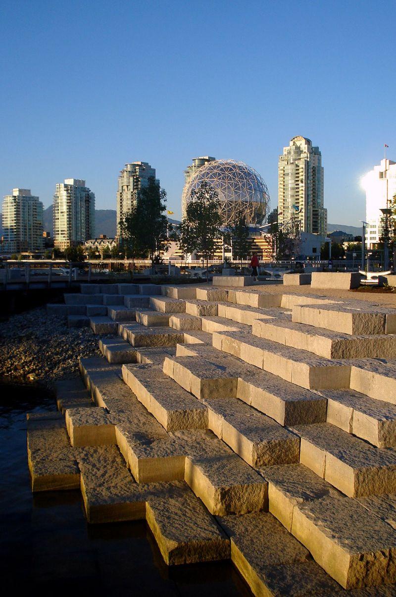 False Creek Sea Wall Vancouver