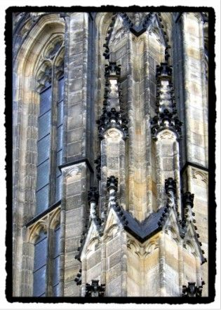 Gothic architecture in prague