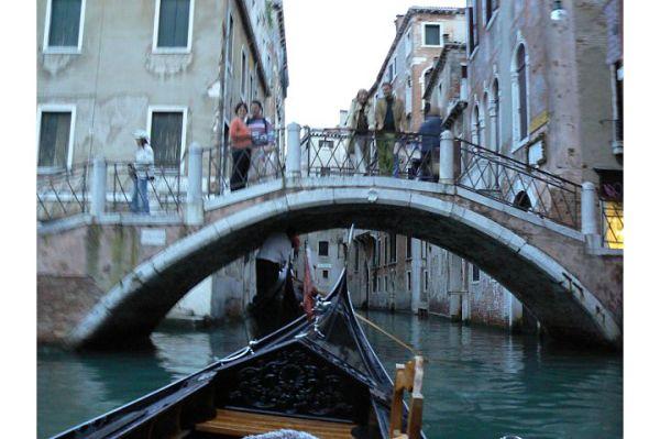 bridges and gondola, canals