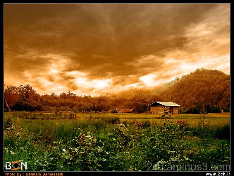 Behn Photo - Sunset Photo - Iran Photo