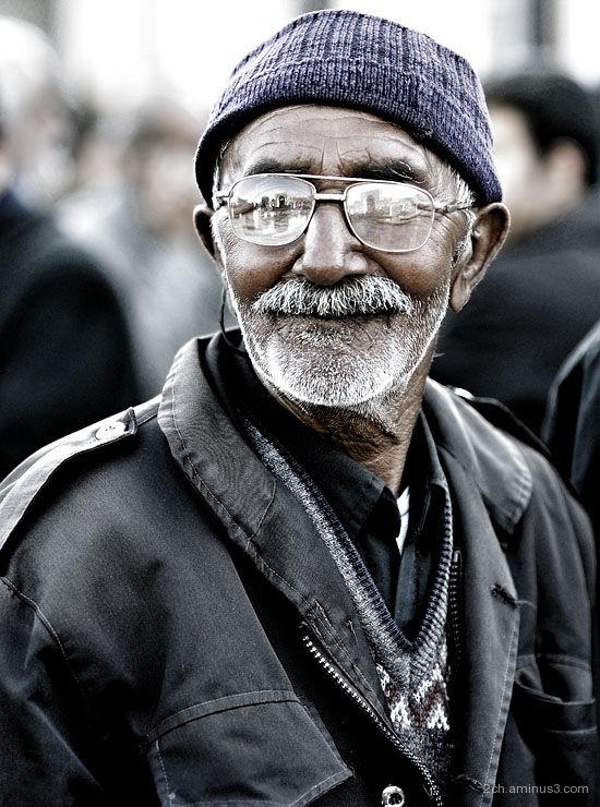 iranian - old man - people - middleeast