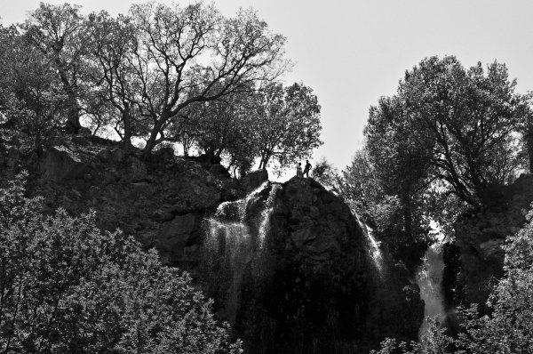 Iran waterfalls