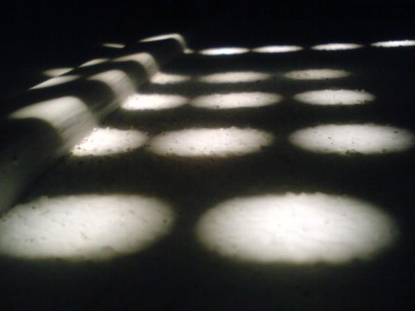 Les reflets du soleil