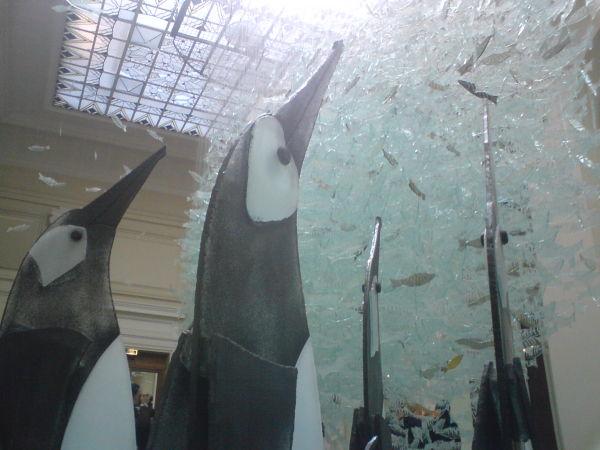 Les pingouins  de verre
