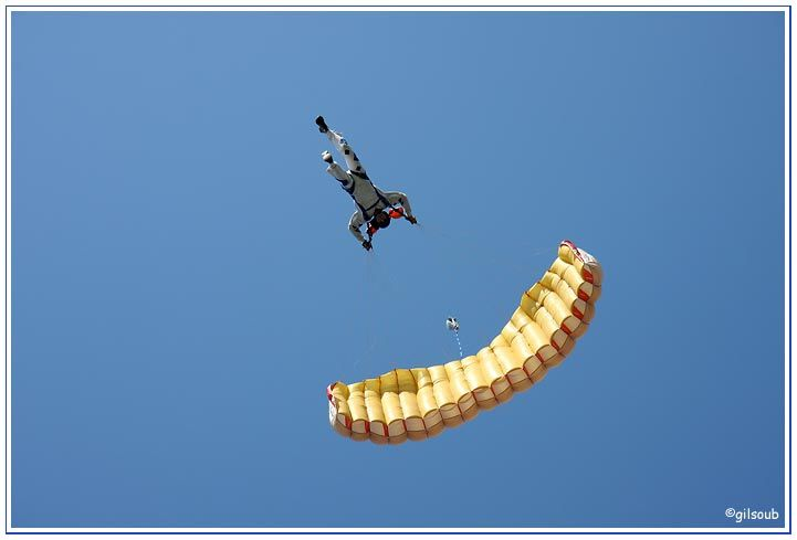 Parachute...