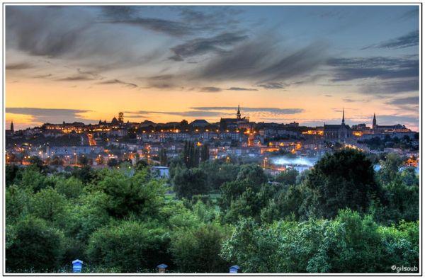 Angoulême de nuit