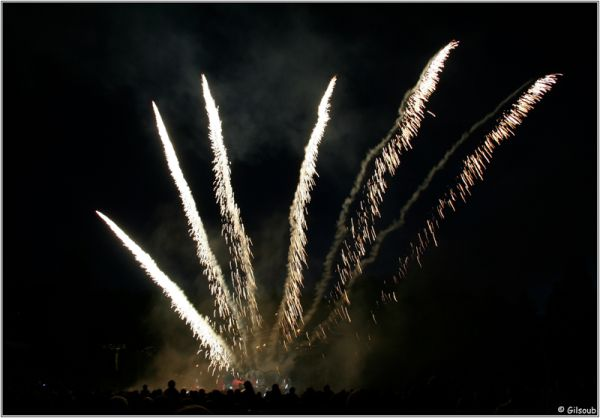 feux d'artifice...