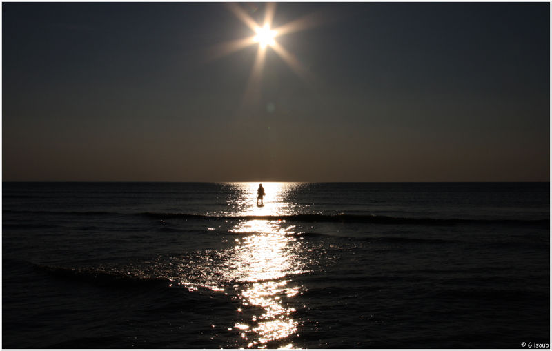 Dans la lumière...