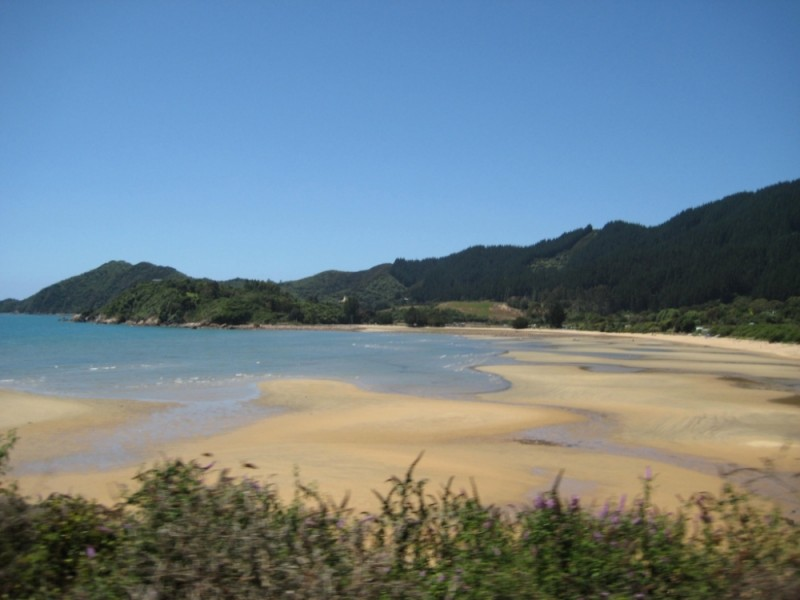 Ligar Bay, in Golden Bay