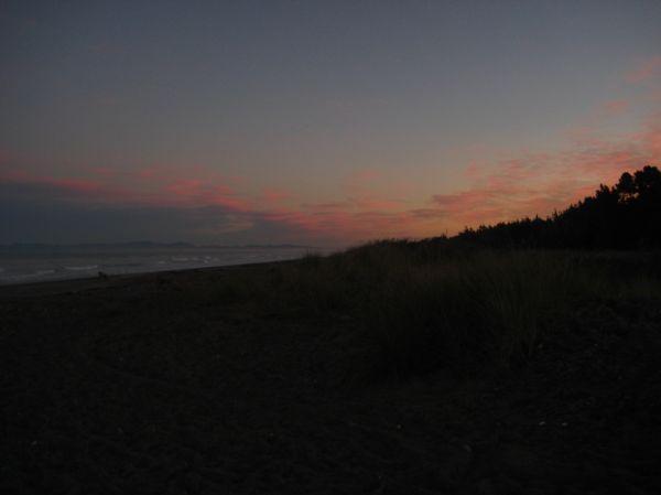 Leithfield Beach Sunset