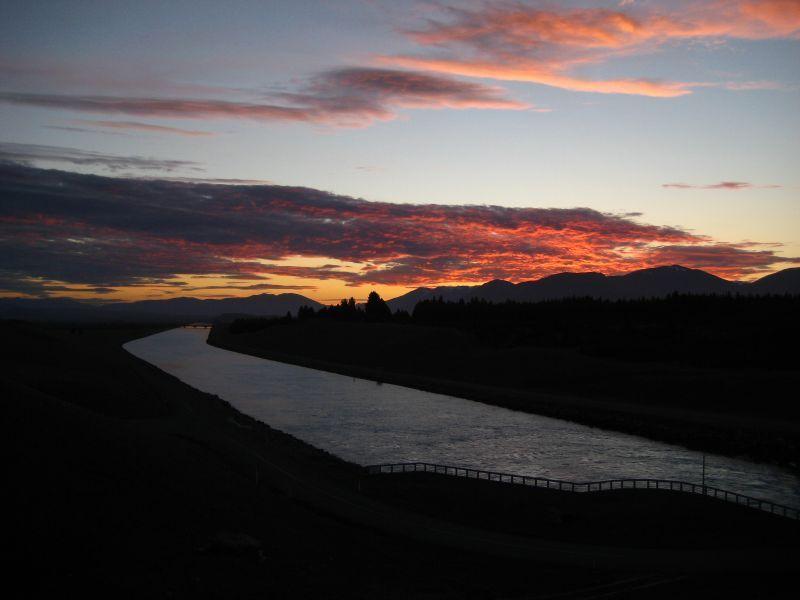twizel sunset