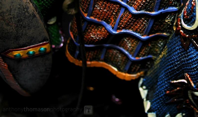abstract hemline of african sculpture