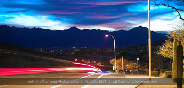 Urban sprawl in the desert of AZ