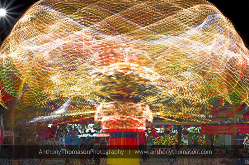 Carnival night photography