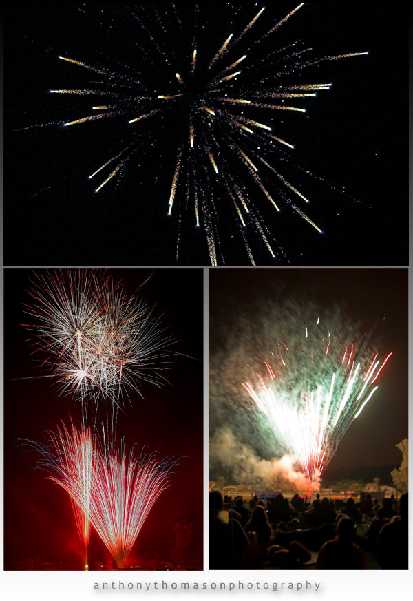 Composite of Ahwatukee Red White & Boom Event