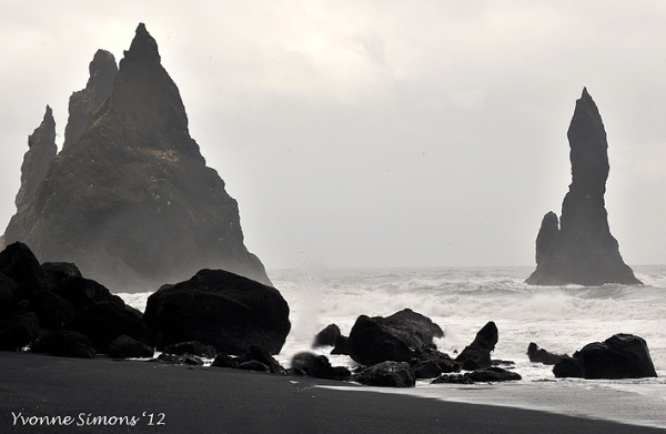 The black beach