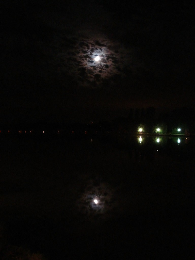 Reflecting the moon