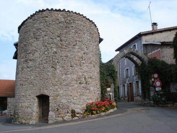 Cervières' entrance