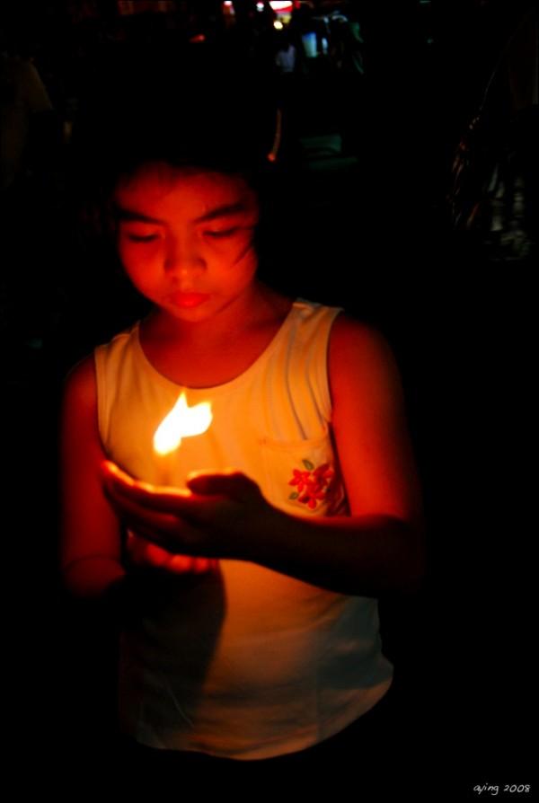 one light