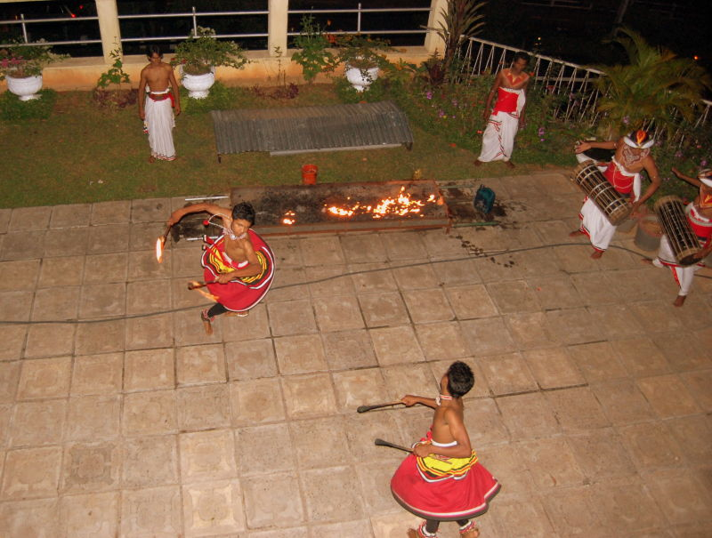 Srilankan Fire Folk Dance