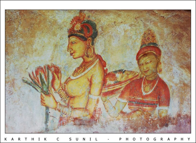 Painting @Sigiriya