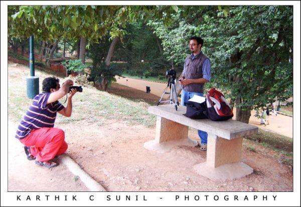 Photographer Capturing another Photographer
