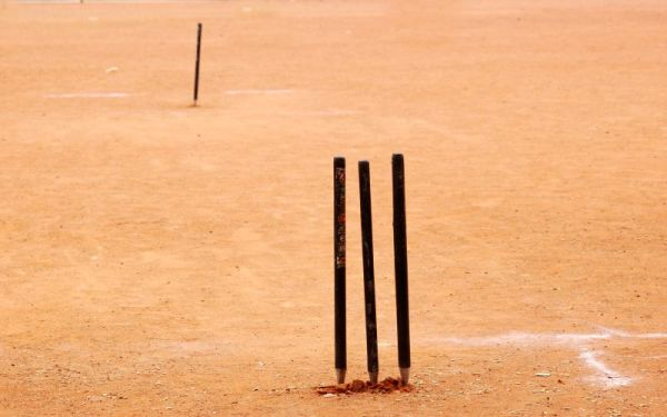 Space for playing cricket