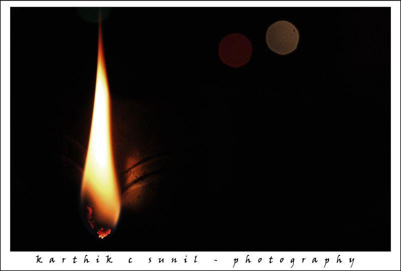 Lamp and Bokeh